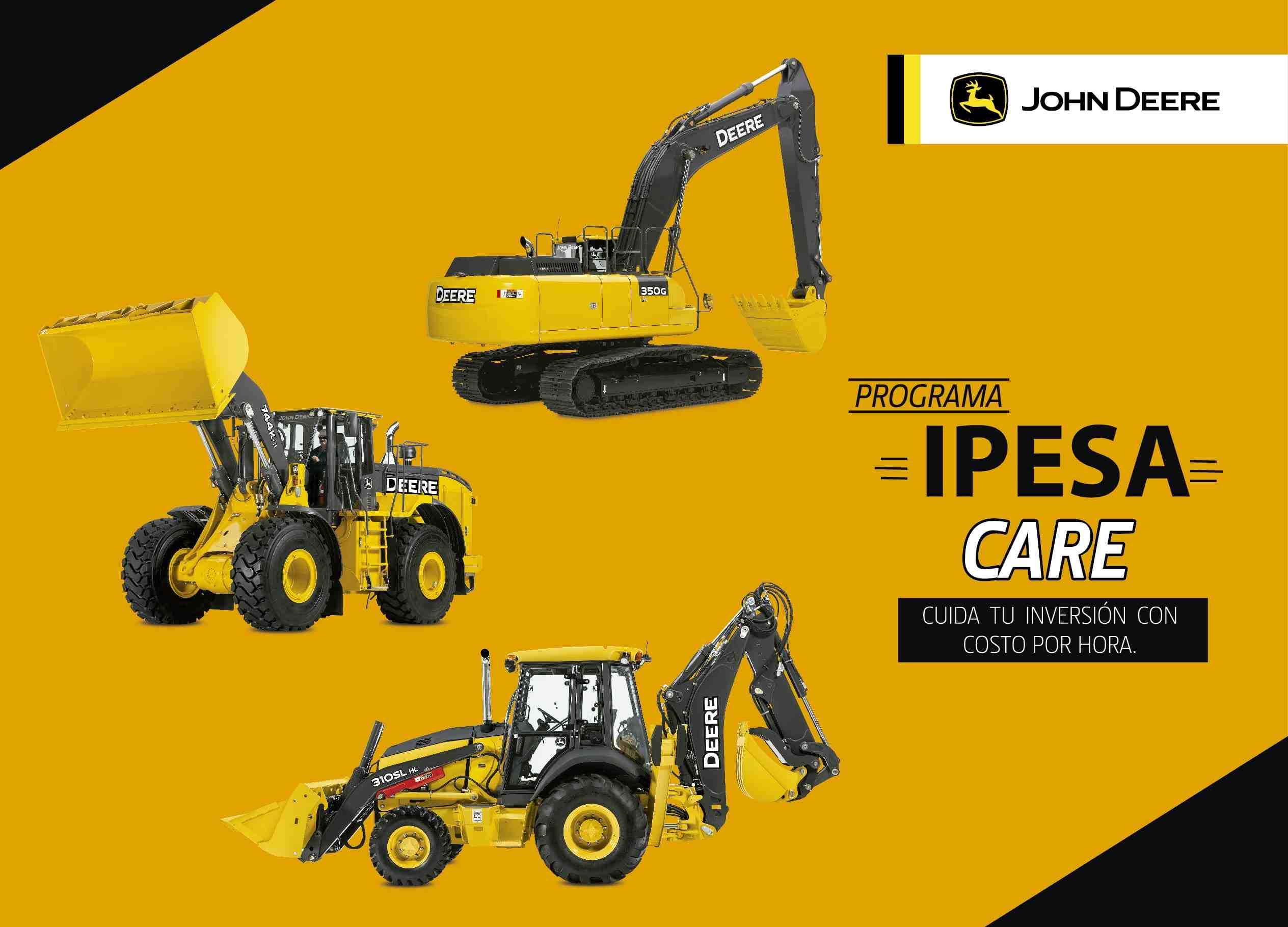 ipesa care mantenimiento maquinarias equipos